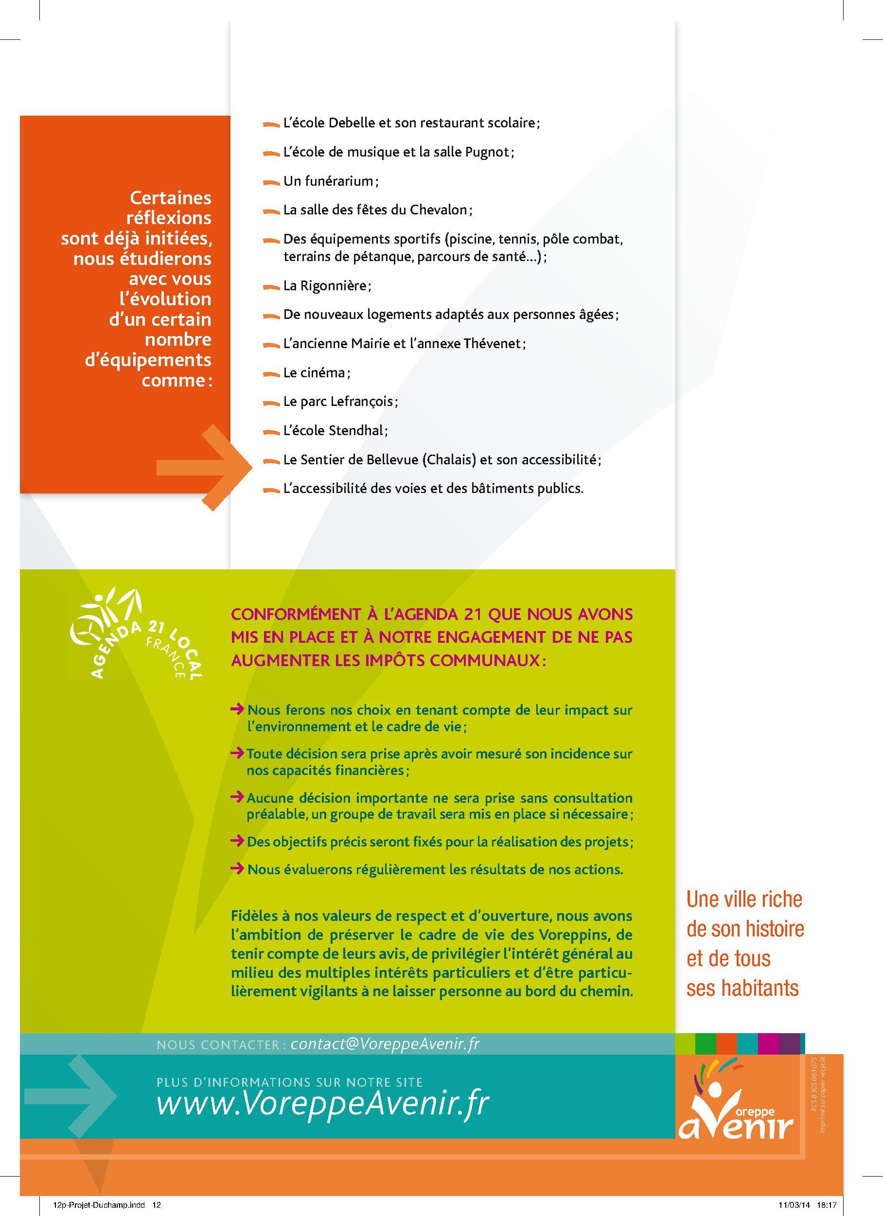 Projet VoreppeAvenir p.12