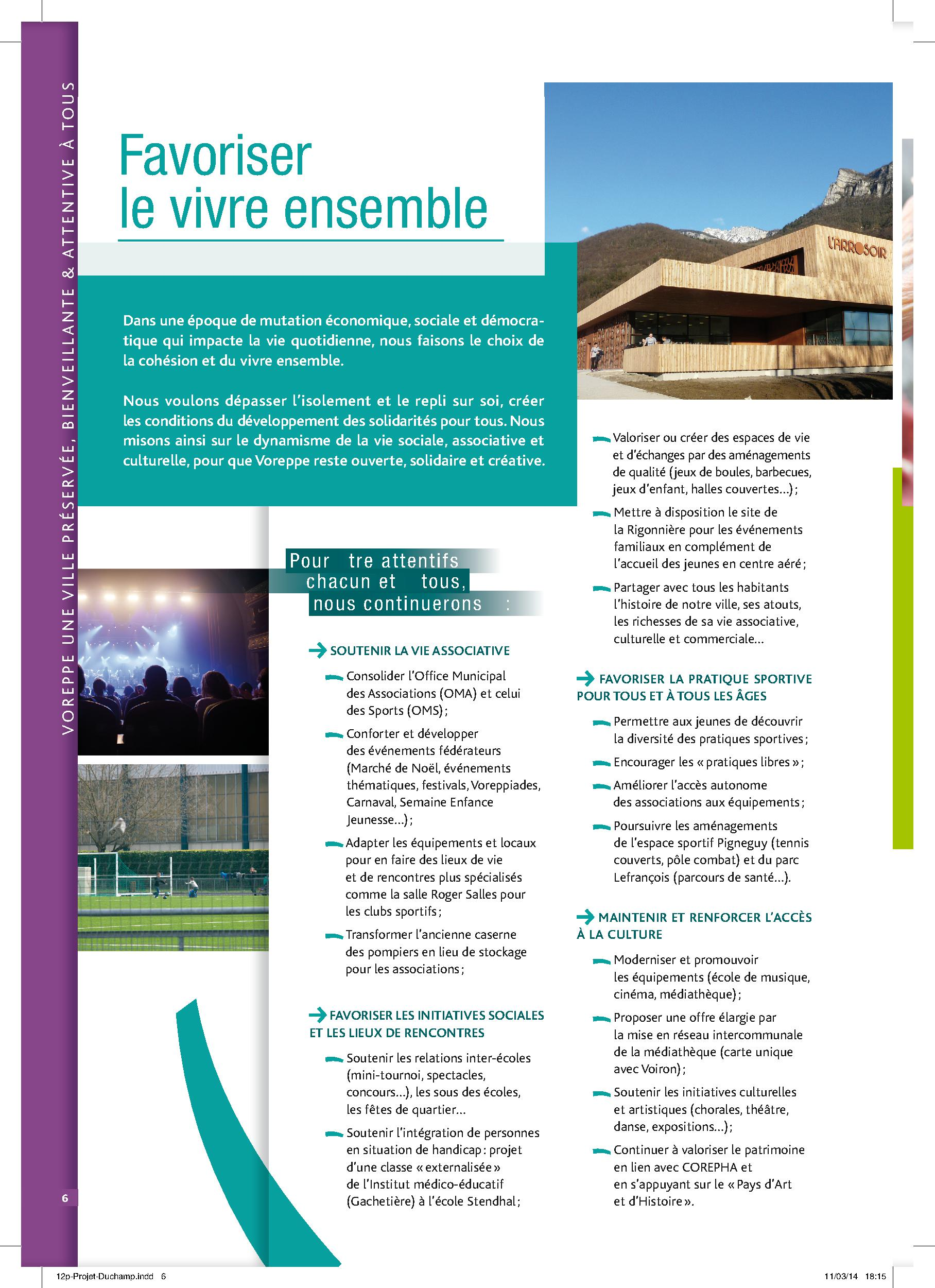 Projet VoreppeAvenir p.6